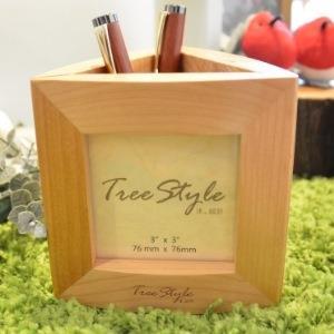 【Tree Style 沐設計】三角相框筆筒