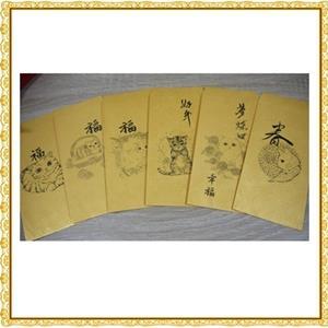 大衛畫貓-新年快樂-貓紅包袋-招財金每組6入-過年限定版(不挑款)