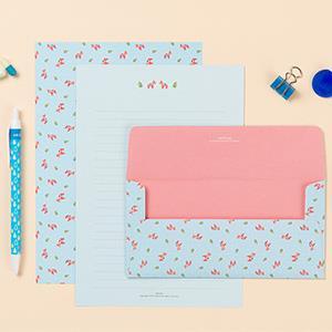 【Ardium】粉彩塗鴉信紙組/4張信紙2張信封 ( 達拉小馬)