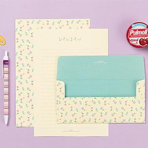 【Ardium】粉彩塗鴉信紙組/4張信紙2張信封 ( 向陽雛菊)