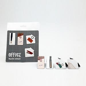 磁鐵書籤 - 文具系列 【辦公飾】