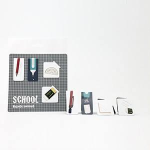 磁鐵書籤 - 文具系列 【上課趣】