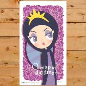 【賣腦瓜】小公主系列明信片 - 格琳希爾德 Grimhlide