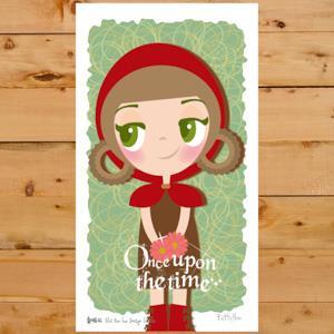 【賣腦瓜】小公主系列明信片 - 小紅帽 Little Red Riding Hood
