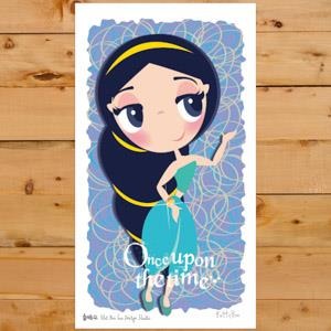 【賣腦瓜】小公主系列明信片 - 茉莉公主Jasmine