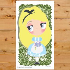 【賣腦瓜】小公主系列明信片 - 愛麗絲夢遊仙境Alice's Adventures in Wonderland