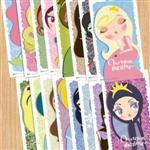 【賣腦瓜】小公主系列明信片 - 套組