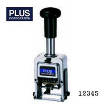 PLUS 30-882 自動號碼機 (5位4樣式) BB型