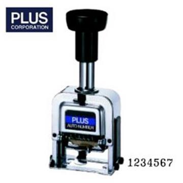 PLUS 30-884 自動號碼機 (7位5樣式) F型