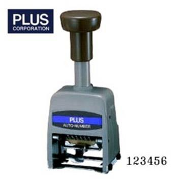 PLUS 30-891 自動號碼機 (6位7樣式) AD型