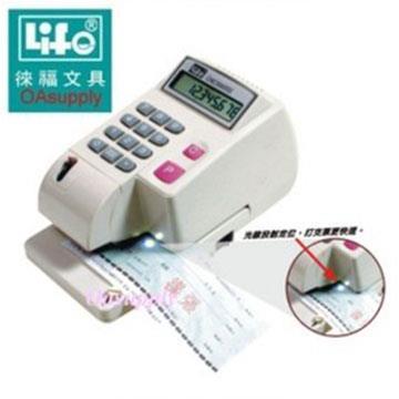 LIFE LC-800 光電投射微電腦數字支票機