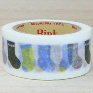 RINK 日本和紙膠帶_ART COSY 襪子