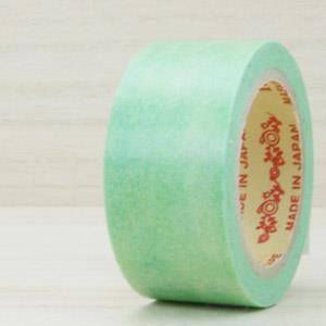 RINK 日本和紙膠帶_水彩色 (綠)