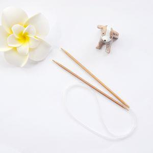 竹製輪針(4.0mm/6號/60CM)