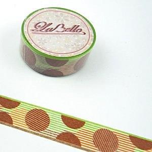 【i-tape】MIT和紙膠帶.LaBelle系列-圓點