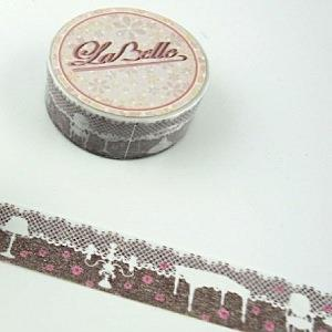 【i-tape】MIT和紙膠帶.LaBelle系列-蕾絲傢具