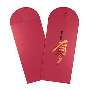 Dr.Paper精緻紅包袋(酒紅-有多)2入/包 MA-R02