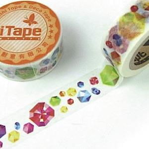【i-tape】MIT和紙膠帶.絢麗-七彩寶石