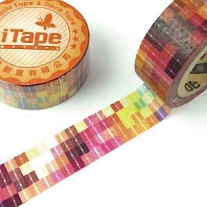 【i-tape】MIT和紙膠帶.絢麗-迷幻光譜