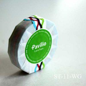 Pavilio 日本 蕾絲膠帶 浪漫風尚 蕾絲蔓延中 STANDARD系列-Wave Green