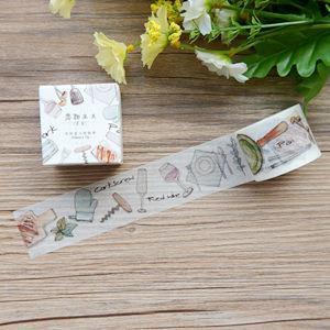 雜貨小物(美食風)‧和紙膠帶(3CM**7M)