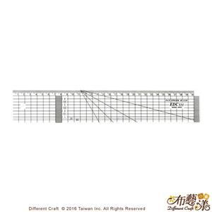 【布藝漾小舖】EDC531 專業防刮拼布尺 31x5cm