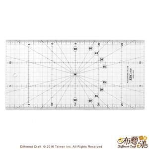 【布藝漾小舖】EDC1530 專業防刮拼布尺 15x30cm