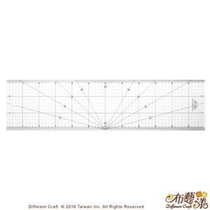 【布藝漾小舖】EDC1560 專業防刮拼布尺 60x15cm