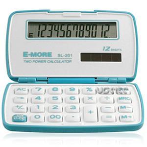 【E-MORE】蜜糖國家考試專用袖珍計算機 SL-201-藍