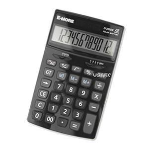 【E-MORE】K值功能桌上型計算機(JS-200GTK)-白