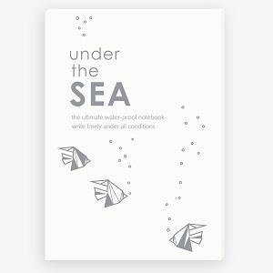 【IWI】SAW note 超能筆記本-海洋