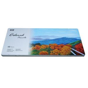 MONA油性色鉛筆48色(鐵盒)