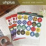 uhplus Deco Sticker 裝飾貼紙組-青春