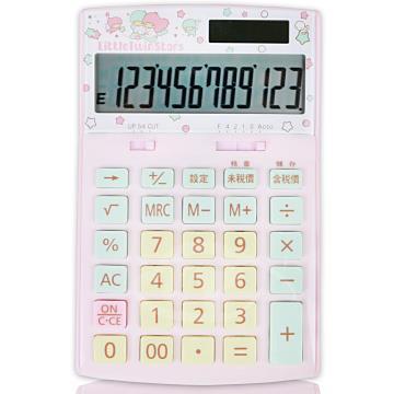 【E-MORE】Sanrio粉嫩系列-雙星仙子 12位數計算機TS800