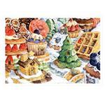 afu尋夢者森林明信片《I01 美食饗宴-美味甜點屋》