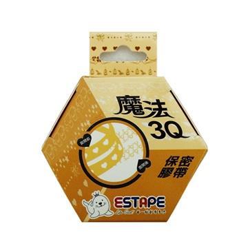 【ESTAPE】魔法3Q保密直拉易撕貼(黃)