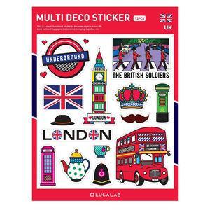 【韓國LUCALAB】世界風裝飾貼紙/英國