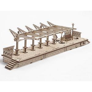 Ugears 自我推進模型 (Railway platform 車站月台)