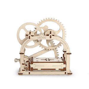 Ugears 自我推進模型 (Mechanical Etui 機動名片盒)