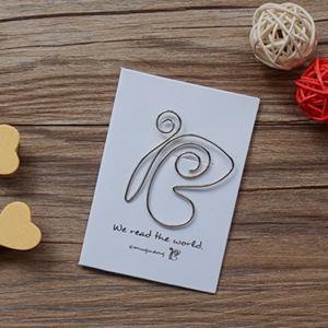 蝴蝶‧迴魂針造型書籤卡