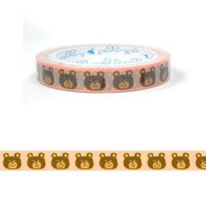 PRIME NAKAMURA OPP膠帶 小熊表情15mm**25m