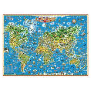世界印象地圖中文版
