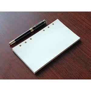 【Leatai 磊泰】48K介紙1.0 (鋼筆適用紙) / 空白6孔活頁紙 / 每包80張160頁