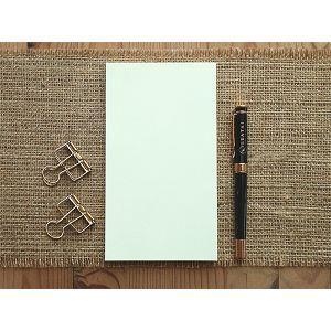 【Leatai 磊泰】介紙1.0 (鋼筆適用紙) / 48K / 空白無孔散紙 / 每包80張160頁
