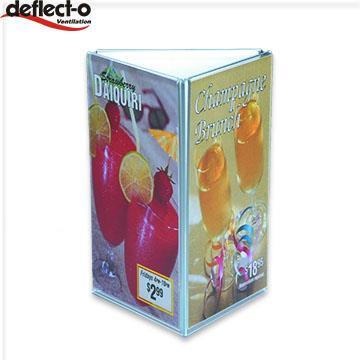 迪多Deflect-o 三面型標示架 60101