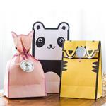 萌萌小動物包裝禮物袋/紙袋(3入)