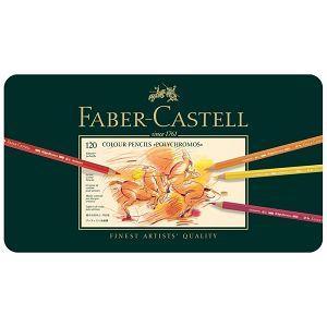 Faber-Castell輝柏 專家級油性色鉛筆(鐵盒裝)-120色