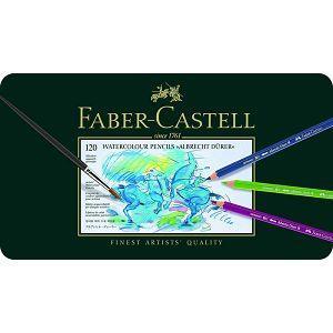 Faber-Castell輝柏 專家級水彩色鉛筆(鐵盒裝)-120色