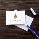 帆船‧感謝‧古銅裝飾萬用小卡