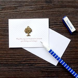 綠樹‧祝福‧古銅裝飾萬用小卡